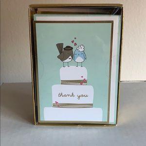 Graphique Wedding Thank You Notes